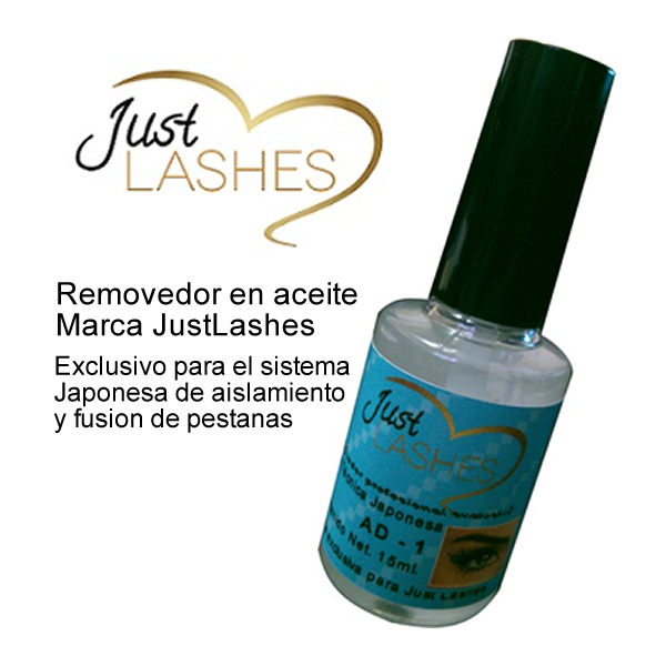 Removedor de aceite Just Lashes